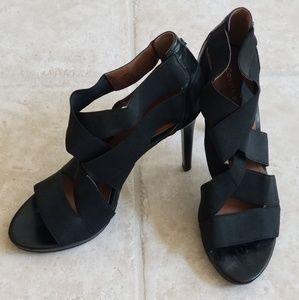 Calvin Klein  Black Stiletto Strappy Heels